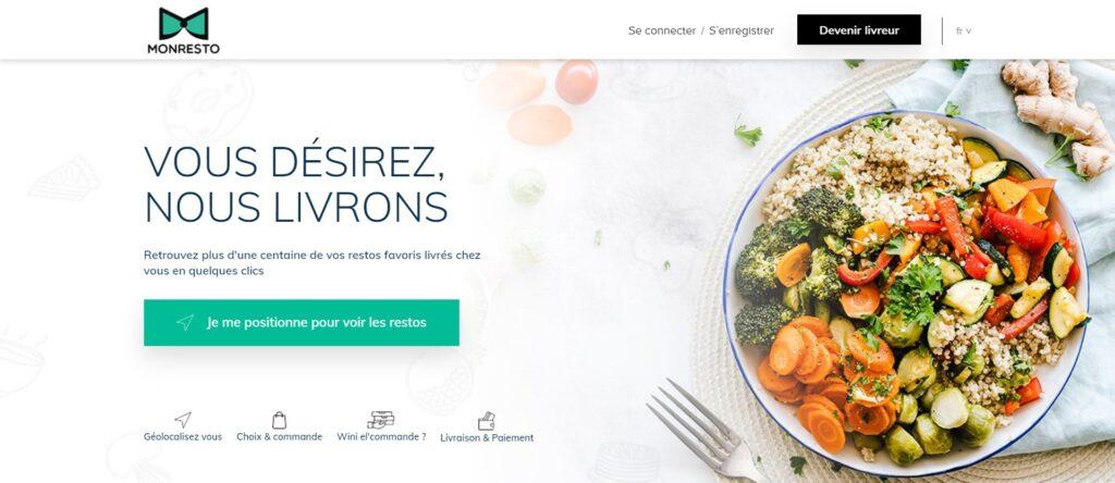 Livraison de repas à domicile ou au bureau en Tunisie - MonResto