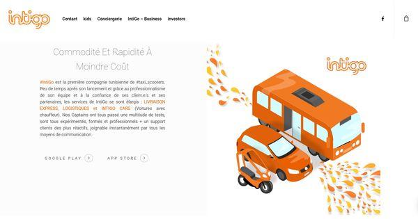 Meilleurs sites de livraison de courses à domicile - TaxiScooter Tunisie - intigo