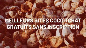 Meilleurs sites Coco Tchat Gratuits sans inscription