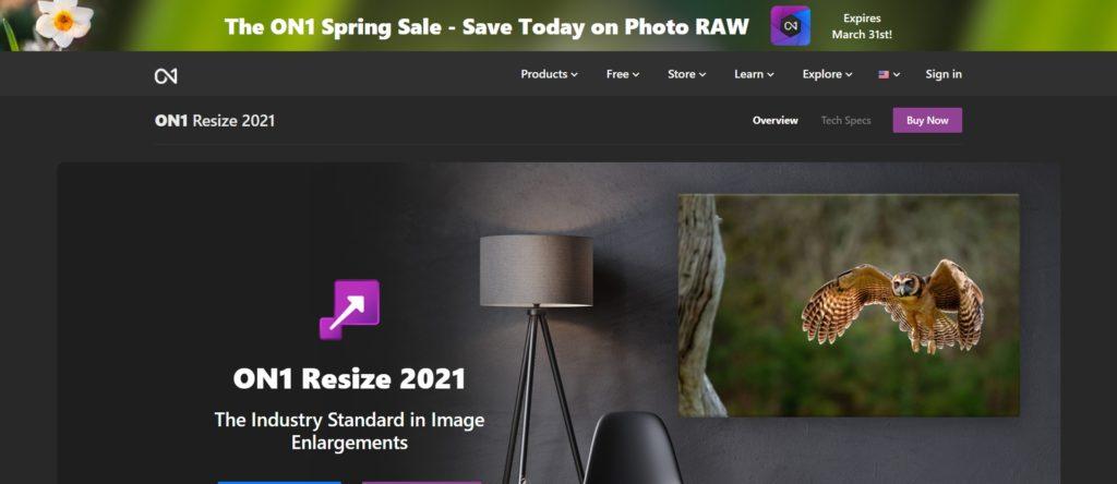 améliorer la qualité photo et la résolution - ON1 Resize 2020