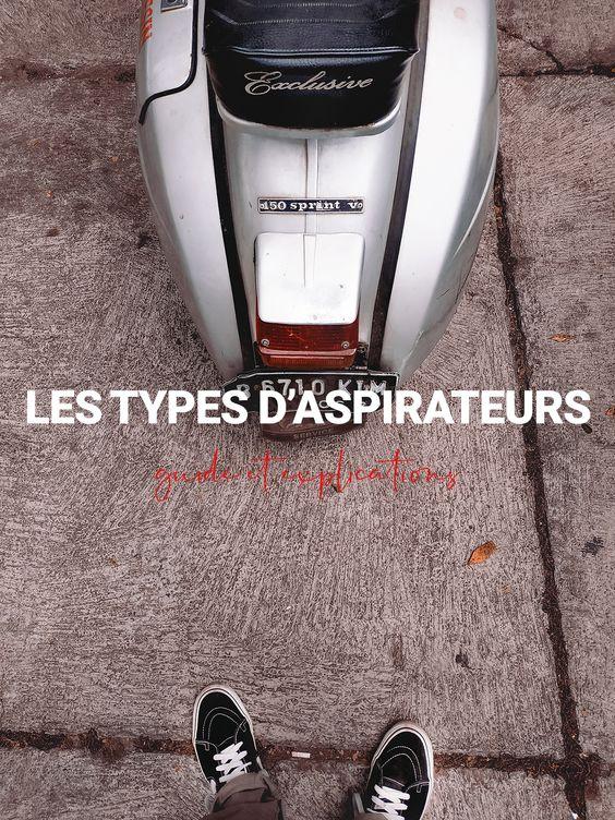 comparatif Aspirateurs avec sac : Les types d'aspirateurs en 2021