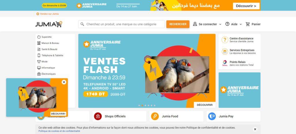 Jumia Tunisie - Téléphones, TV, Supermarché, Santé & Hygiène