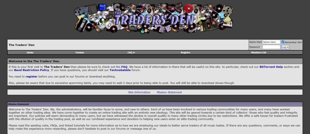 Meilleur Site de Téléchargement Musique Torrent - The Traders' Den