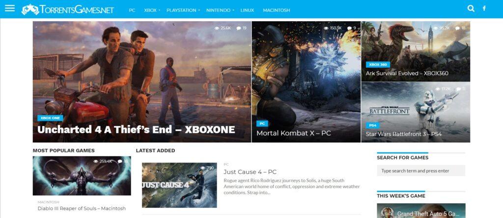 Meilleur site de torrent jeux vidéo - Torrents Games