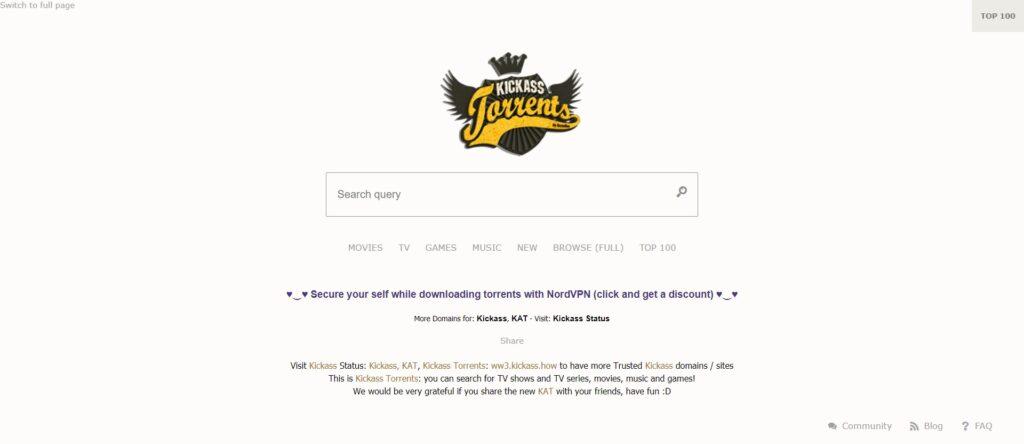 Meilleur site de torrent livres - KAT - Kickass Torrents