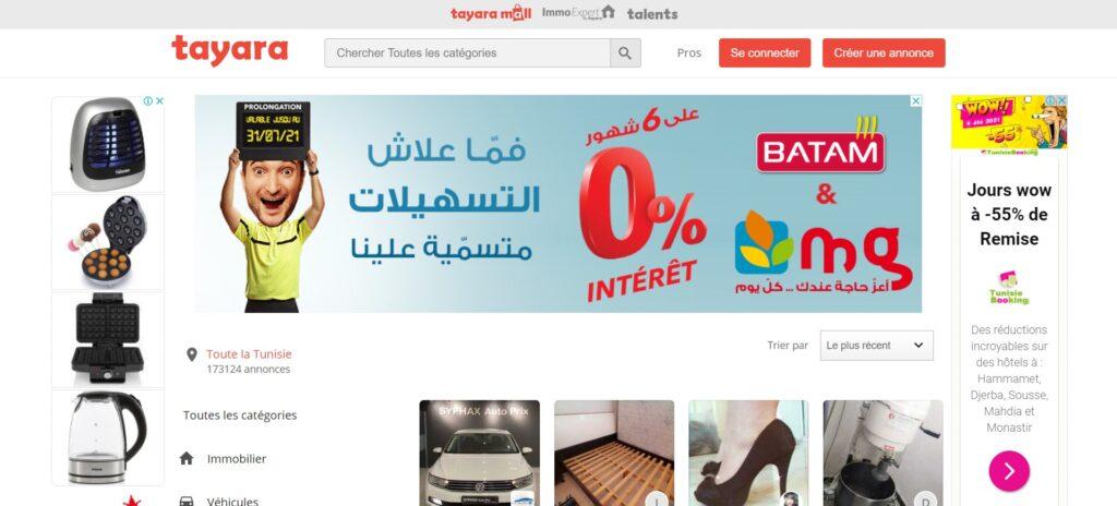 Tayara tn - Vente et achat en ligne partout en Tunisie