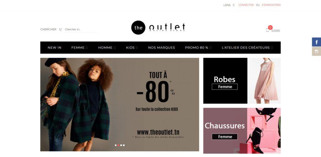 The Outlet - Vente Vêtement de marque et prêt à porter Femme, Homme