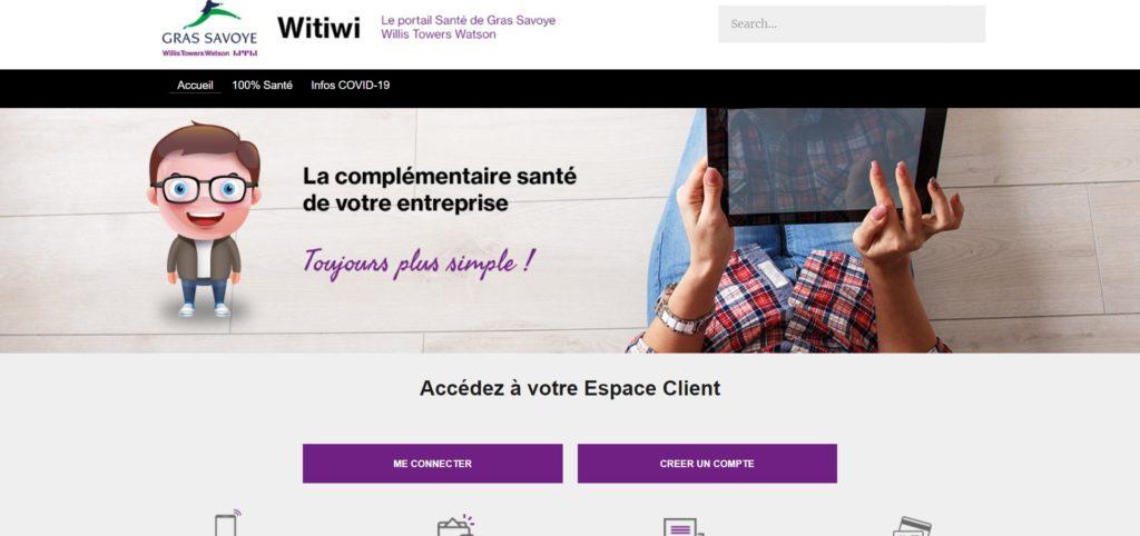 Witiwi : Espace Client Assurés Santé