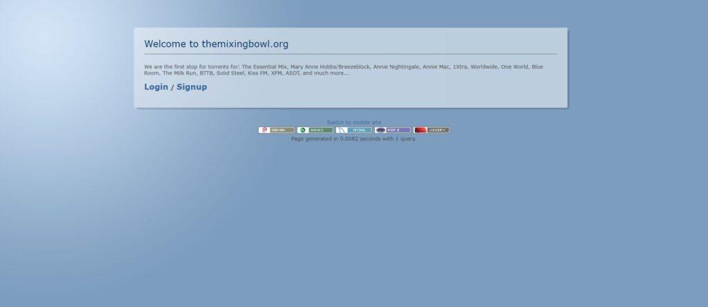 TheMixingBowl : Musique et Mix en téléchargement torrents
