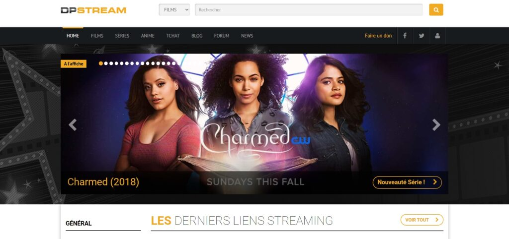 dpstream - Films, Séries et Mangas en streaming