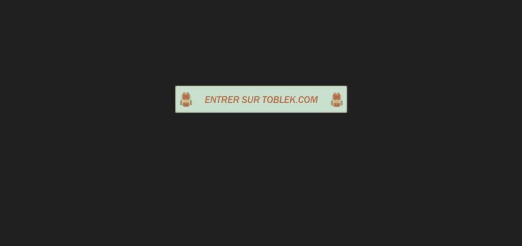 Présentation de Toblek.com - site de streaming film gratuit