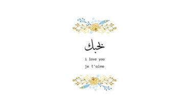 Top : 10 Belles Façons de dire Je t'aime en Arabe