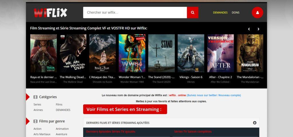 Wiflix pour regarder des Films et Séries en Streaming Sans Compte en 2021 (La nouvelle adresse)