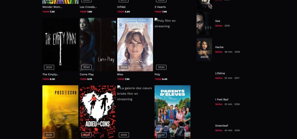 Comment regarder un film sur Cinemay