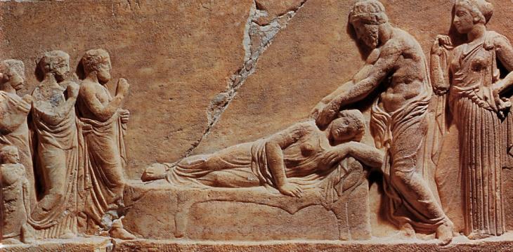 Le massage dans l'antiquité