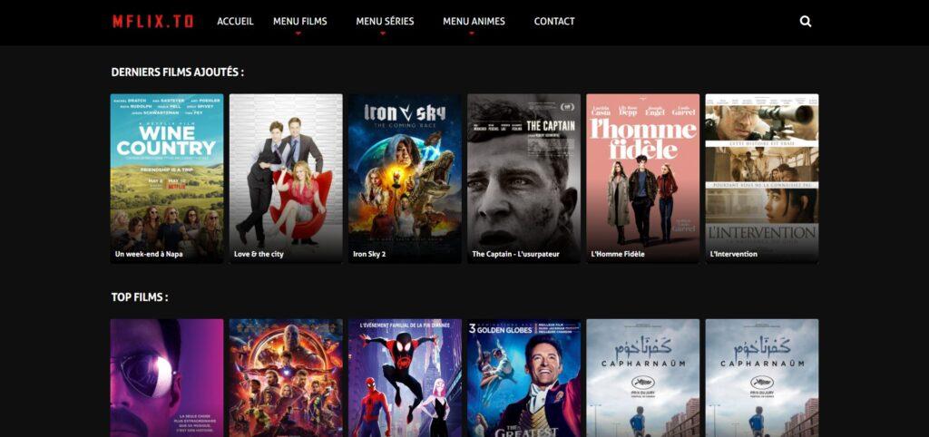 Mflix : Films et séries en streaming HD