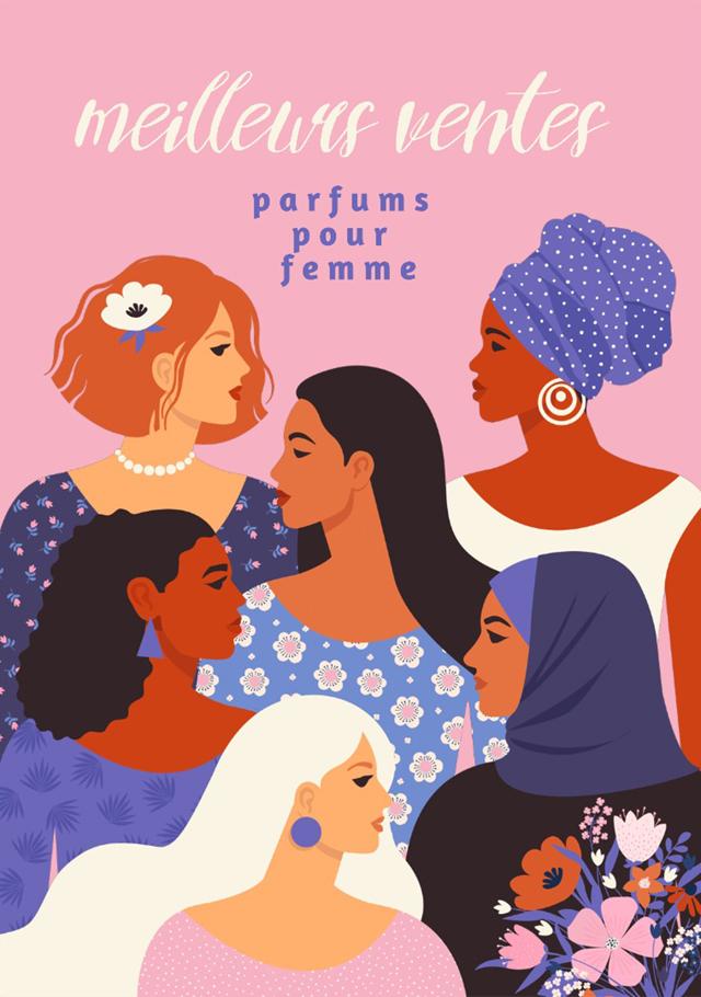 Quel est le parfum le plus vendu pour femme ?