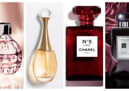 Top 30 Meilleurs parfums et fragrances femme pour tous les goûts