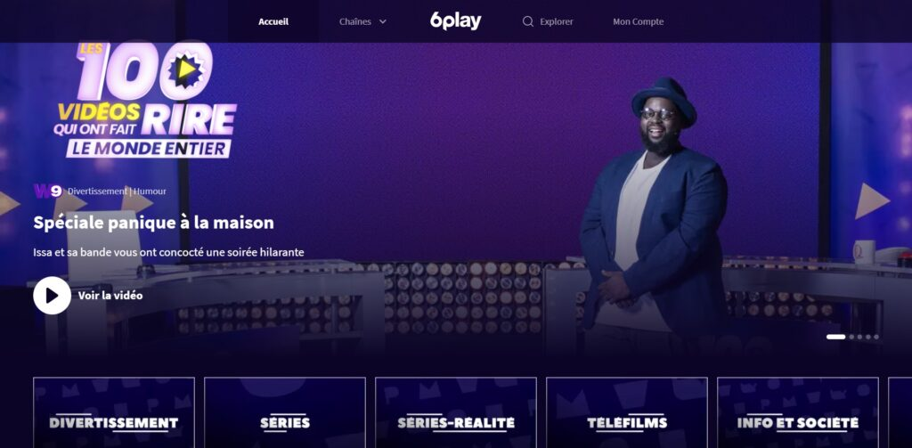 6play - regardez des programmes TV en Replay ou en Direct