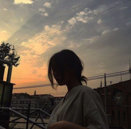 photo de profil aesthetic girl