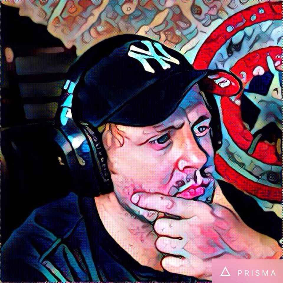 Photo de profile originale avec un effet popart et cartoon