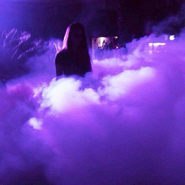 photo de profil aesthetic violet