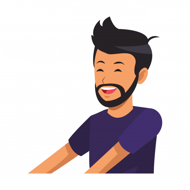 photo profil homme barbe