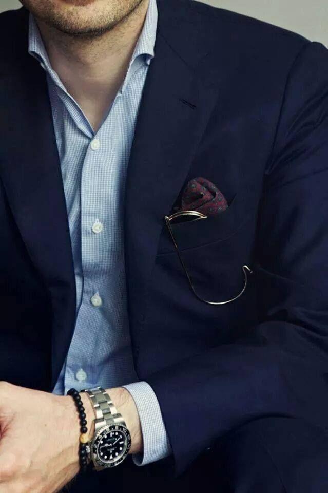 homme classique et élégant