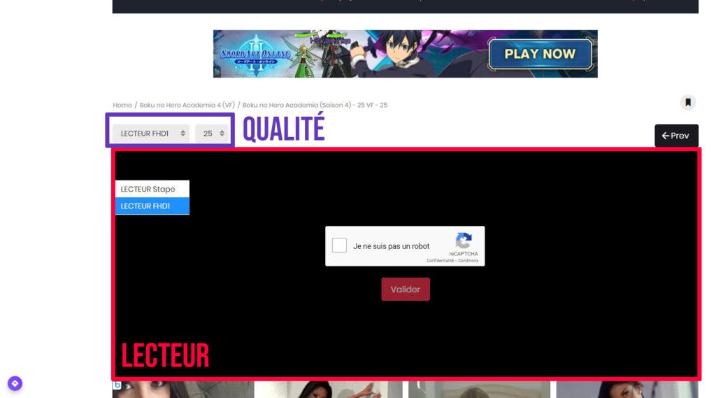 Comment regarder un Anime en streaming HD et FHD - lecteurs et qualités