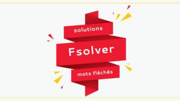 Fsolver : Trouver les Solutions de mots fléchés et mots croisés Rapidement