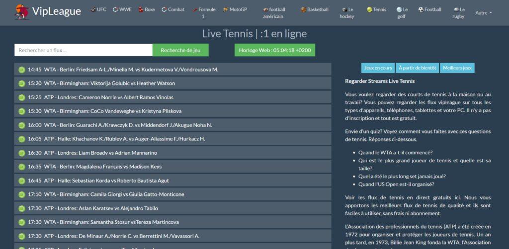 Test Nouvelle adresse  VIPleague :  Parmi les raisons pour lesquelles les gens aiment utiliser VIPLeague, il y a la fiabilité de son contenu, la possibilité de choisir de nombreuses sources différentes et les liens pour regarder le jeu ou le match en direct !
