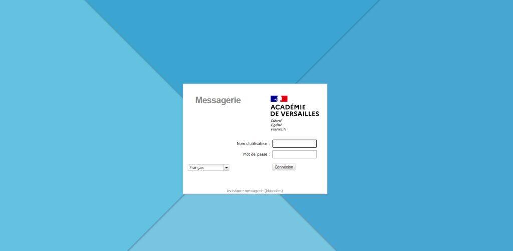 Académie de Versailles - Messagerie - messagerie.ac-versailles.fr