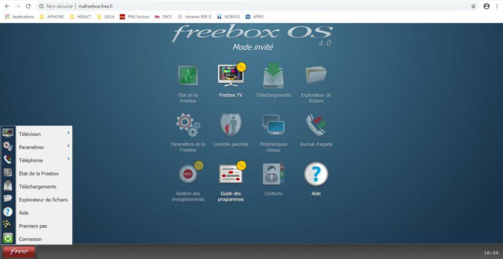 mafreebox.freebox.fr - Activation du WPS sur FREEBOX