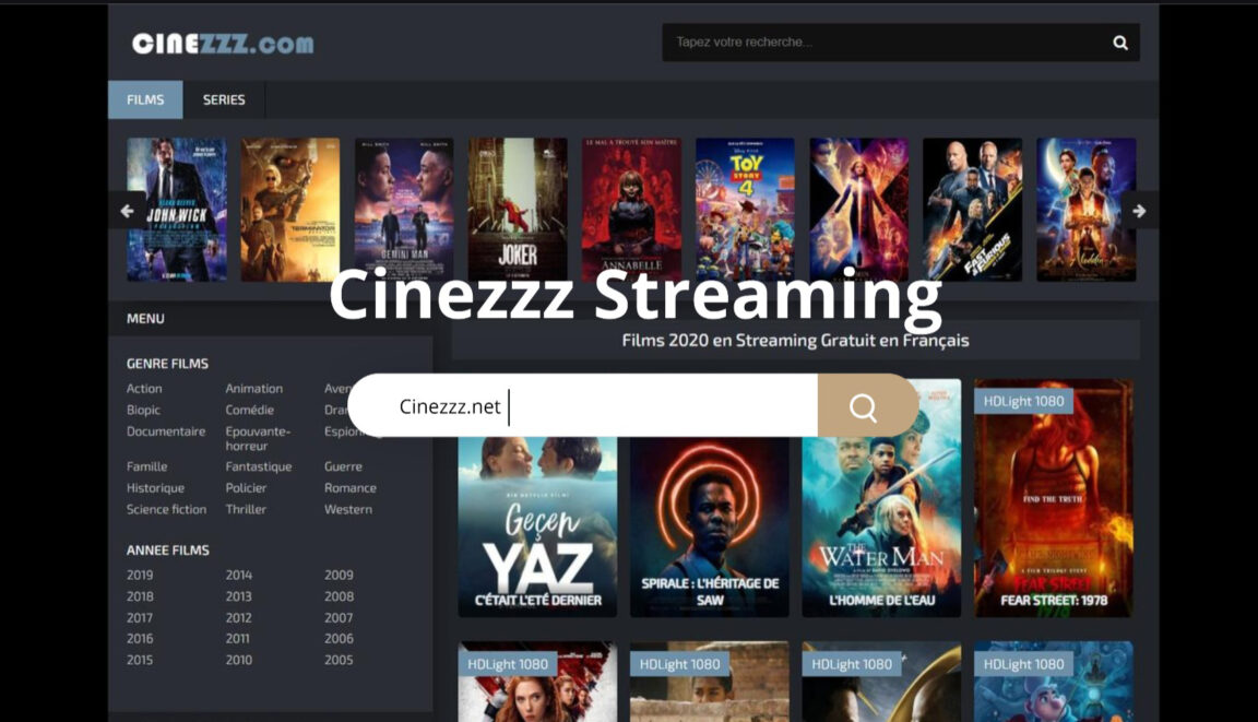 Cinezzz : Le site de Streaming Gratuit change d'adresse