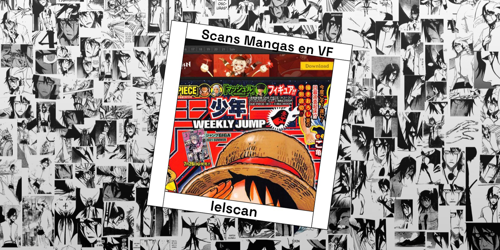 Lelscan : Lire tous les Scans Mangas en VF gratuitement