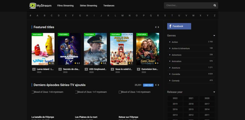 MyStream - Série et Film Streaming Gratuit HD En Version Française