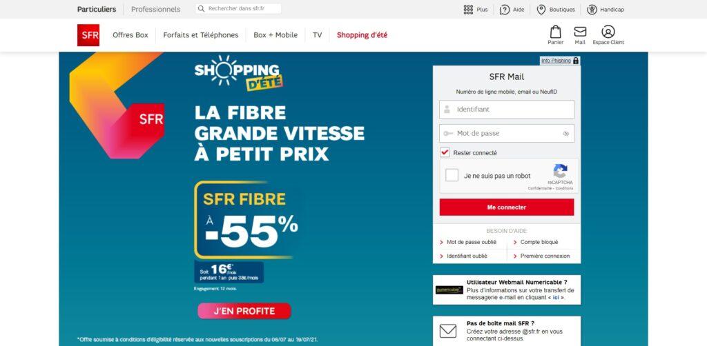 SFR Mail – Retrouvez votre Webmail, boite mail et adresse mail