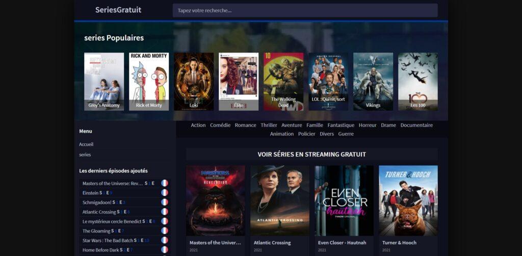 Sakstream nouvelle adresse - Séries en streaming HD gratuit, illimité en vf et vostfr