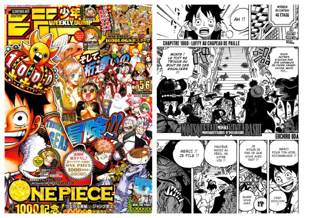 Scan One Piece chapitre 1000 en français