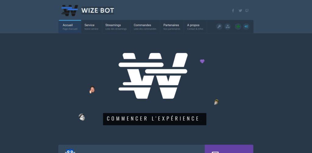 WizeBot - A Twitch Service - wizebot tv