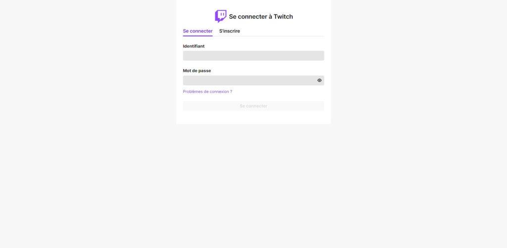 Wizebot Se connecter avec compte Twitch