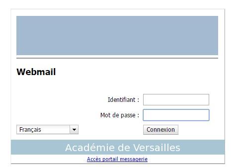 calendrier Webmail Versailles via webmail