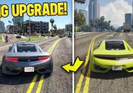 Comparatif GTA 5 vs GTA New-gen
