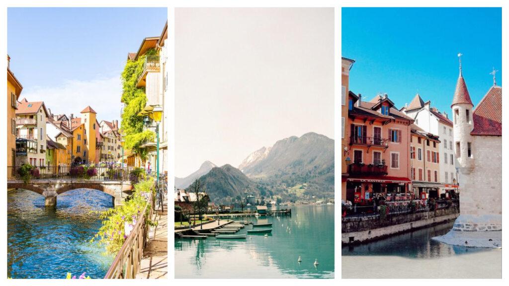 lieux romantiques - Annecy, France