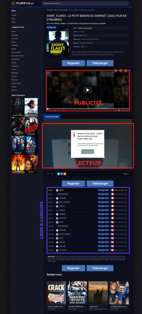 Comment regarder un film en streaming sur Filmoflix ?