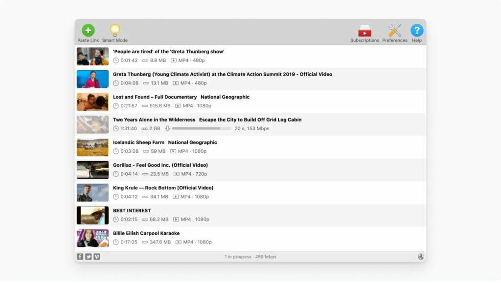 Télécharger des vidéos en Streaming - 4K Video Downloader