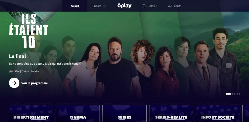 6play, regardez des programmes TV en Replay ou en Direct