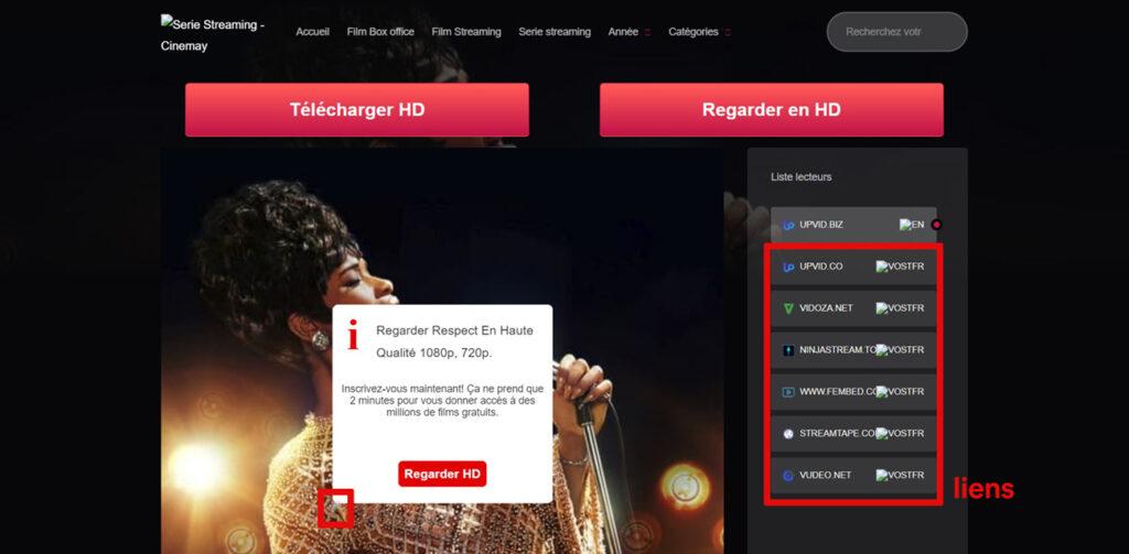 Regarder du streaming sur Cinemay : Premier en France, Cinemay.cc est la plateforme streaming full HD gratuite . Cinemay compte un total de plus de 3 000 Séries et plus de 24 000 Films tous disponibles en streaming gratuit en VF VOSTFR.