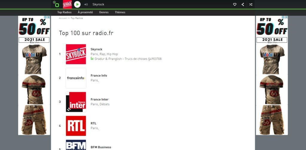 Radio.fr - écouter la Radio en Direct gratuitement sur internet