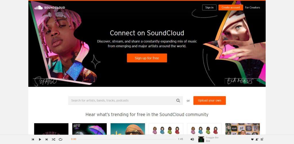 SoundCloud - L'alternative de la musique en ligne gratuite